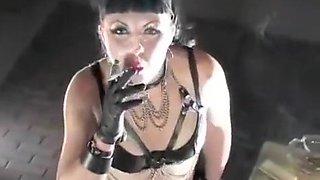 Amazing amateur Fetish, Brunette sex scene