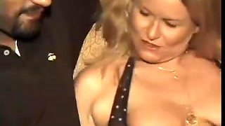 Mature slut Alice dp party