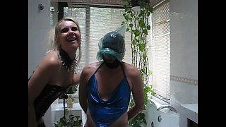 sadobitch - sissyhubby bathroom session p2