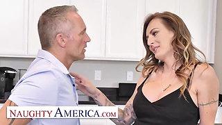 Naughty America - Natasha Starr fucks her husband's employee