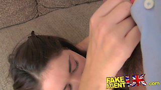 FakeAgentUK: Petite amateur with perfect body spoils fake agent