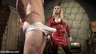 Aiden Starr & Sergeant Miles in Aiden Starr Dominates Sexy Military Hard Ass - DivineBitches