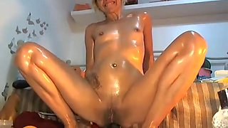 French Mature 35 Anal Blonde M