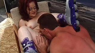 Midget redhead fucked in the vagina