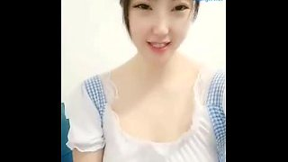 Shaved Chinese Camgirl Live Creampie 12
