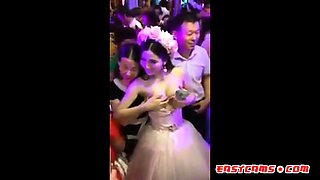 Chinese Charity Boobs Squeeze