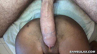 BWC perforates ebony tight cunt and cums inside