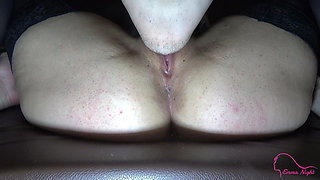 Lover licks my pussy when my husband calls me - Cheating
