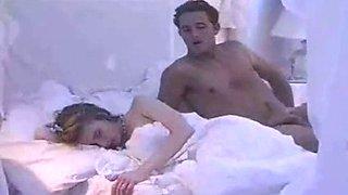 Sister pretends to sleep when big brothers sneak in (scene teeny exzesse 45)