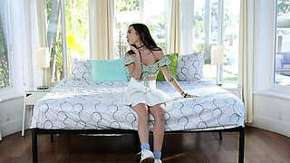 Big Titted Milf And Her BF Let The Teen Babysitter
