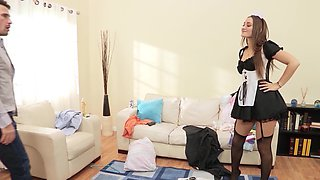 Dani Daniels is a dirty French maid that loves a big cock