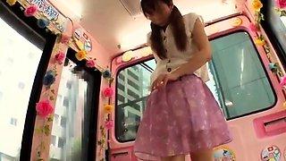 Uruha Mizuki amazing Asian teen is in hardcore group action