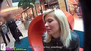 Mallcuties - Young czech girls fucking on public