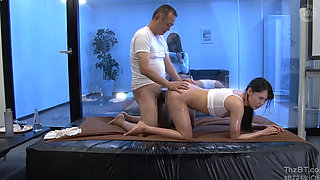 Fucking his Step Daughter In Front Of Her Mother
