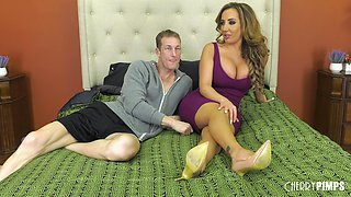 Milf Richelle Ryan is eager to have her fuck hole penetrated