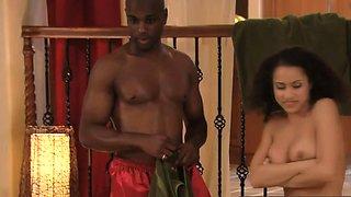 Black swinger couple swapped partners