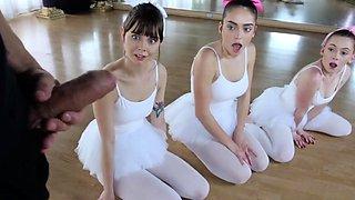 Russian college party Ballerinas