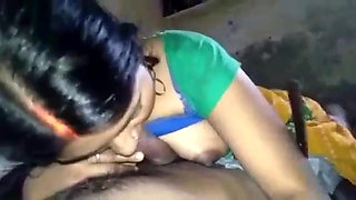 Sexy Village Bhabhi in Blowjob Video