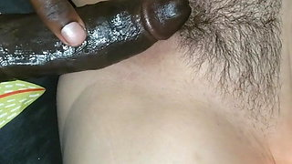 Hard black dick in white chick