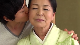 Naughty Japanese Grandma Tsuboi Fumi fucked hard