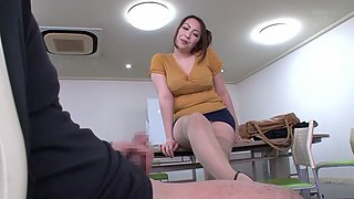 Aoi Aoyama in Lascivious Lady Seduces with Dirty Talk part 3