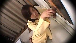 Incredible Japanese girl in Horny Hidden Cam, Voyeur JAV clip