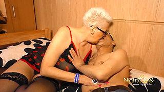 deutsche Oma macht Pornos