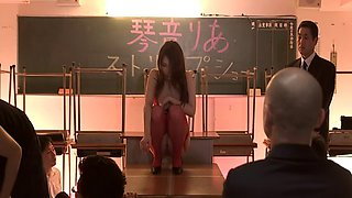 Erotic fucking with sexy teacher Ria Kotone after the class