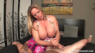 Mature with huge tits in insolent XXX porn