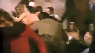 Retro Strip In Public Bar