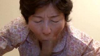 Asian Granny Mizuki Yoshino pounded hard