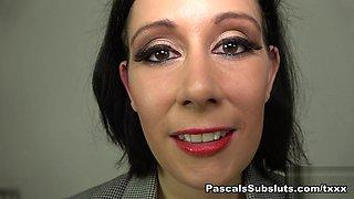 Belle O'Hara in Belle: Porn Virgin Wants Her Boss To Watch - PascalsSubsluts