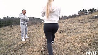 nothing is better for horny dude than a rough sex with Mia Linz