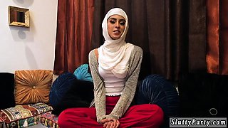 boss's daughters caught spying Hot arab dolls try foursome