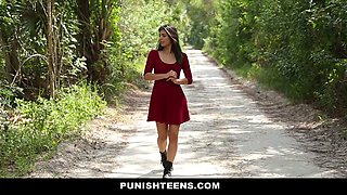 Gina Valentina in The Domination Barn - Submissived