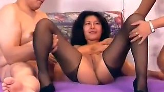 Amateur Couple Casting In Thre