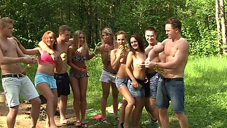 There is a big sex party going on in the great outdoors