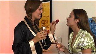 Lesbian Bridal Stories 2 Scene 2. Elexis Monroe, Heather Silk