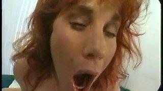 Breasty pregnant mama double penetration fuck