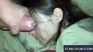 These sluts love giving oral sex and you can't imagine how horny they are