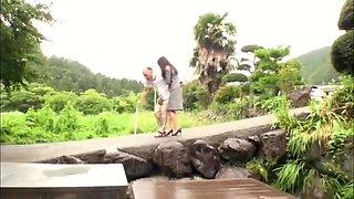 Arimura Chika in Married 24 Outdoor Shame Chika Arimura