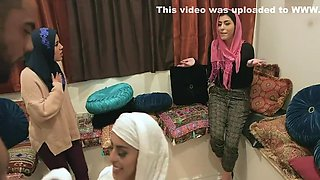 Lala Ivey, Ella Knox And Cali Lee In Teens Get Rough Fucked In Hijabs