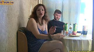 Drunk Russian Slut Fabiana