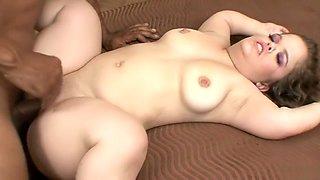 Midget Mini Mya gets a big black cock