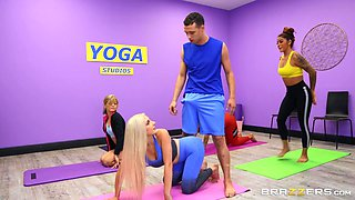 we can still have some erotic fun while doing yoga!!!