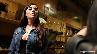 WHIPPED ASS GIRL OF THE MONTH APRIL 2012 The Dark Side Of Taylor Vixen