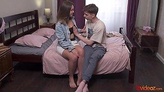 Hot Teen Couple Lovemaking - Mia Piper