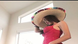 Life was hard then for cute Mexican chick Daisy Marie who