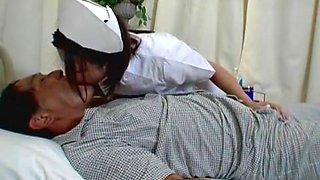 Crazy Japanese chick Emi Yoshida in Exotic Nurse, Small Tits JAV scene