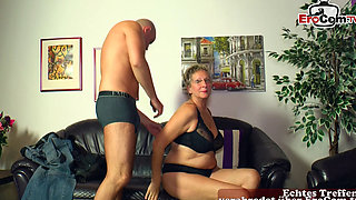 german short hair mature mom seduced younger guy